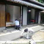 土間の塗り替え