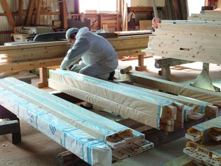 木材の梱包
