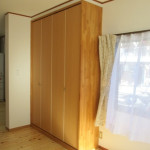 耐震壁とリビング収納