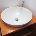 陶器の洗面ボール