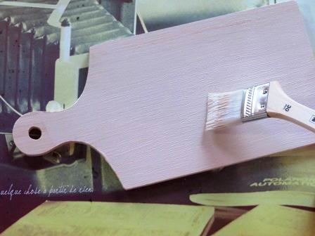 カッティングボードの塗料