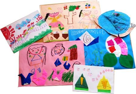子どもの作品 上手な整理方法