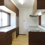 キッチンと背面収納