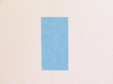 壁紙のはがれ補修