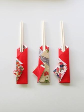 折り紙で作る箸袋